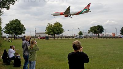EGLL - Airport - Spotting Location