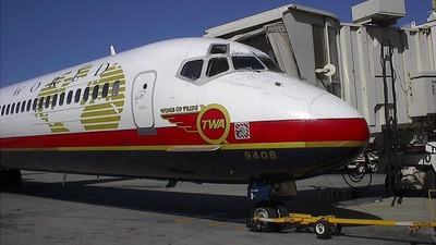 N948TW - McDonnell Douglas MD-83 - Trans World Airlines (TWA)