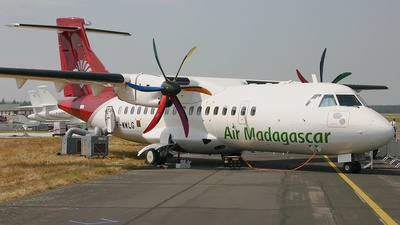 F-WWLG - ATR 42-500 - Air Madagascar