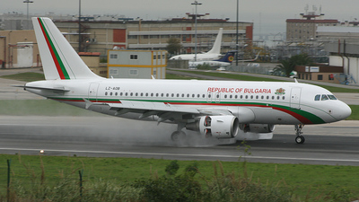 LZ-AOB - Airbus A319-112 - Bulgaria - Government (BH Air)