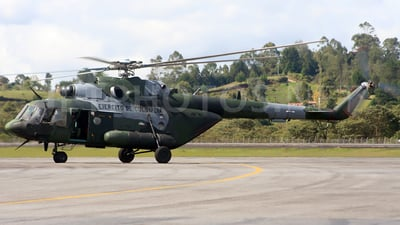 EJC-378 - Mil Mi-17 Hip - Colombia - Army