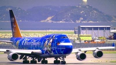 JA8912 - Boeing 747-446 - Japan Airlines (JAL)