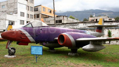 F-113 - Gloster Meteor FR.9 - Ecuador - Air Force