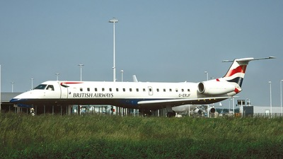G-ERJF - Embraer ERJ-145EP - British Airways (CityFlyer Express)