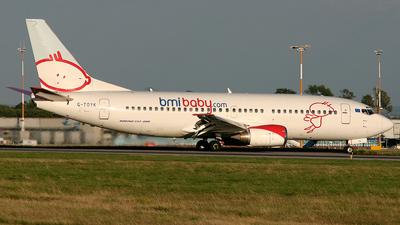 G-TOYK - Boeing 737-33R - bmibaby