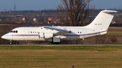 A picture of A6RJE - Learjet 60 - [60383] - © Sniper72