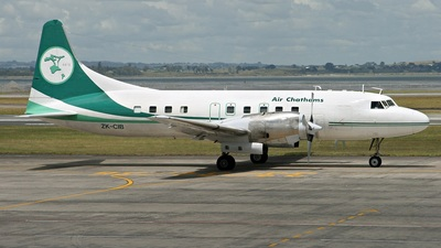 ZK-CIB - Convair CV-580 - Air Chathams