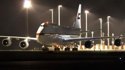 A6-YAS - Boeing 747-4F6 - United Arab Emirates - Abu Dhabi Amiri Flight