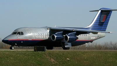 N610AW - British Aerospace BAe 146-200 - United Express (Air Wisconsin)