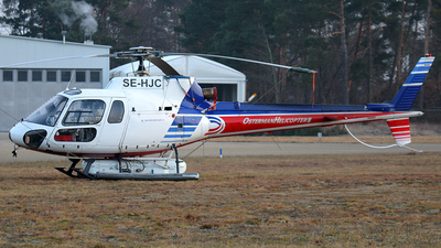 SE-HJC - Aérospatiale AS 350B1 Ecureuil - Osterman Helicopter