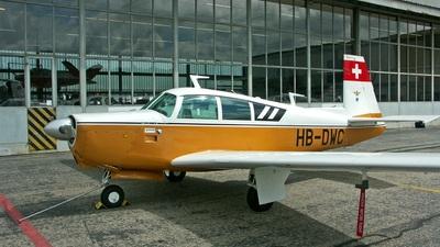 HB-DWC - Mooney M20C - Private