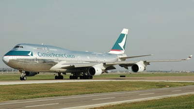 B-HKS - Boeing 747-412(BCF) - Cathay Pacific Cargo