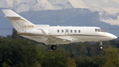 LX-OKR - Raytheon Hawker 850XP - Global Jet Luxembourg