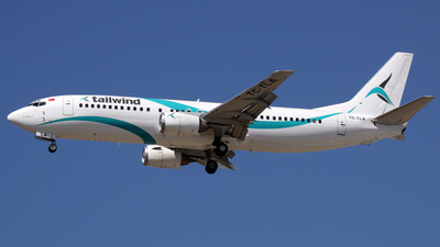 TC-TLA - Boeing 737-4Q8 - Tailwind Airlines