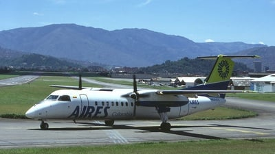 HK-4107X - Bombardier Dash 8-311 - Aires Colombia