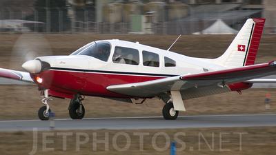 HB-PJA - Piper PA-28R-201 Arrow  - Avilù
