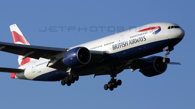 G-RAES - Boeing 777-236(ER) - British Airways