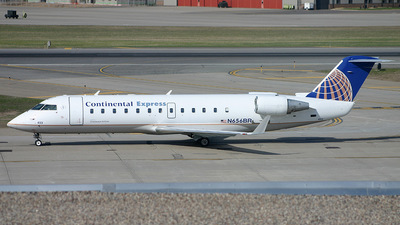 N656BR - Bombardier CRJ-200ER - Continental Express (Chautauqua Airlines)