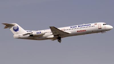 EP-ASZ - Fokker 100 - Iran Aseman Airlines