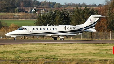 G-SOVB - Bombardier Learjet 45 - Sovereign Air