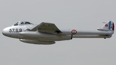 F-AZHJ - De Havilland Vampire FB.6 - Private