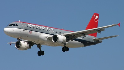 N365NW - Airbus A320-212 - Northwest Airlines