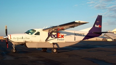 N756FE - Cessna 208B Super Cargomaster - FedEx Feeder (Baron Aviation Services)