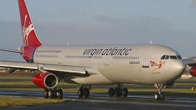G-VBUS - Airbus A340-311 - Virgin Atlantic Airways