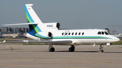 N119AG - Dassault Falcon 50EX - Allianz