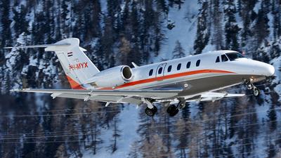 PH-MYX - Cessna 650 Citation VII - Solid Air