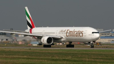 A6-EMX - Boeing 777-31H - Emirates