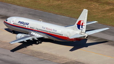 9M-MQE - Boeing 737-4H6 - Malaysia Airlines