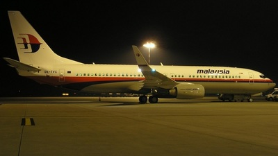 OK-TVC - Boeing 737-86Q - Malaysia Airlines
