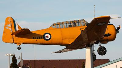 AJ693 - North American Harvard Mk II - Canada - Royal Canadian Air Force (RCAF)