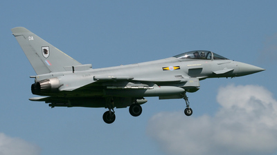 ZJ931 - Eurofighter Typhoon F.2 - United Kingdom - Royal Air Force (RAF)