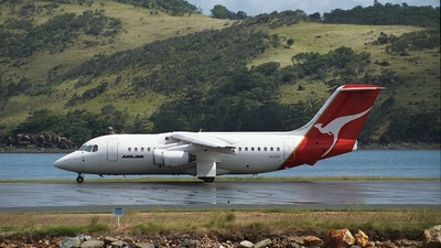 VH-NJU - British Aerospace BAe 146-200 - Qantaslink