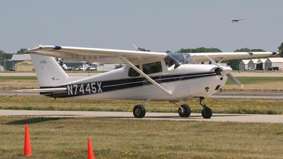 A picture of N7445X - Cessna 172B Skyhawk - [17247945] - © Sergey Riabsev