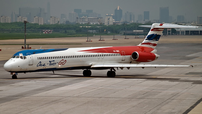 HS-OMG - McDonnell Douglas MD-82 - One-Two-GO by Orient Thai