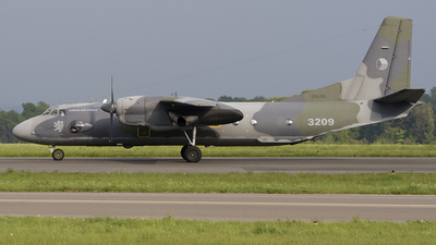 3209 - Antonov An-26 - Czech Republic - Air Force