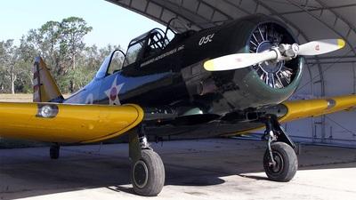 N453WA - North American T-6 Harvard - Warbird Adventures