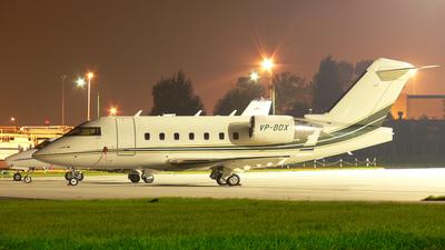 VP-BDX - Bombardier CL-600-2B16 Challenger 604 - Private
