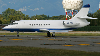 VP-BDL - Dassault Falcon 2000 - Private