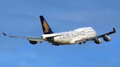 9V-SPP - Boeing 747-412 - Singapore Airlines