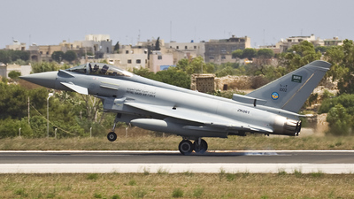 ZK061 - Eurofighter Typhoon EF2000 - Saudi Arabia - Air Force