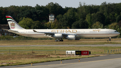 F-WWCJ - Airbus A340-642X - Etihad Airways