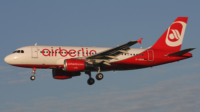 D-ABGM - Airbus A319-112 - Air Berlin
