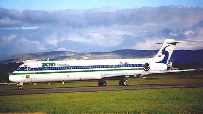 EI-CBS - McDonnell Douglas MD-83 - Sociedad Aeronáutica de Medellín (SAM)