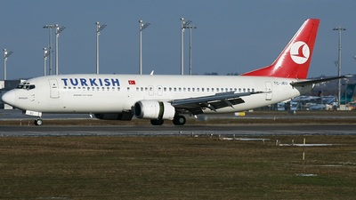 TC-JEU - Boeing 737-4Y0 - Turkish Airlines
