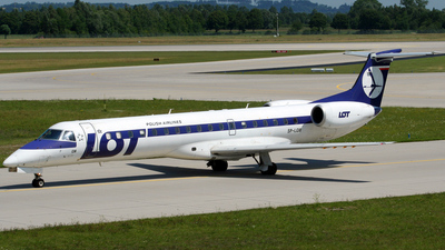 SP-LGM - Embraer ERJ-145MP - LOT Polish Airlines