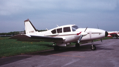 C-FBBD - Piper PA-23-250 Aztec D - Private